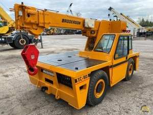 Broderson IC-80-1G 9-Ton Carry Deck Crane