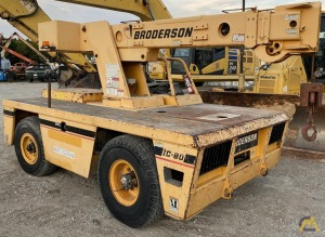 LOW HOURS!! Broderson Refurbished IC-80-1D 8-ton Carry Deck Industrial Crane
