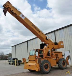 Broderson RT-300 15-Ton Down Cab Rough Terrain Crane