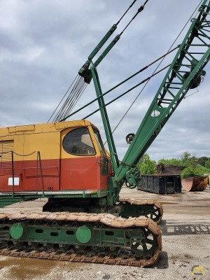 Bucyrus Erie 30-B Lattice Boom Crawler