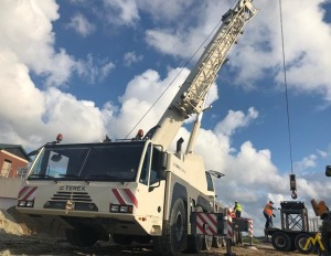 Demag AC140 170-Ton All Terrain Crane