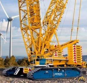 Demag CC 3800-1 715-Ton Lattice Boom Crawler Crane