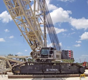 715t Demag CC 3800-1 Lattice Boom Crawler Crane