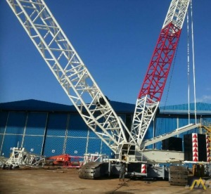Demag CC2500-1 550-Ton Lattice Boom Crawler Crane