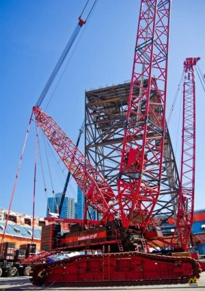 Demag CC4000S 880-Ton Lattice Boom Crawler Crane