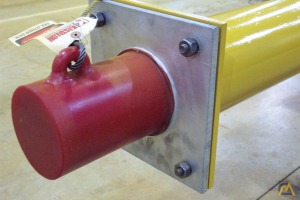 Kastalon Elastomeric Crane Bumpers last up to 20 times longer than hydraulic, spring, rubber & wood bumpers