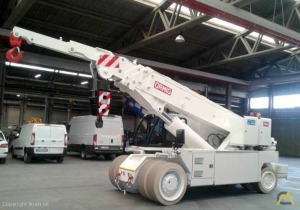 Electric 40-ton Ormig 40 ie Pick and Carry Crane