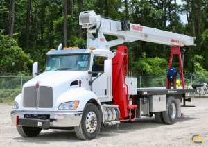 Elliott  1870F 18-Ton Boom Truck Crane on a 2019 Kenworth T370