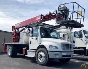 Elliott L60R 62' Telescopic Aerial Platform on Freightliner