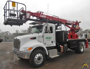 Elliott L60R Telescopic Aerial Work Platform on Peterbilt 337