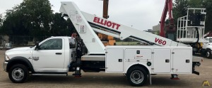 2021 Elliott V60F mounted on a Dodge Ram 5500
