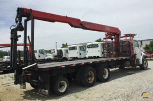 Fassi F280SE.22 Wall Board Loader Crane on Sterling 9500