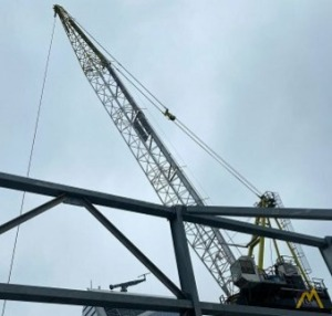 Favelle Favco M440D 55.1-Ton Luffing Boom Tower Crane