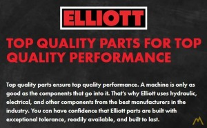 Large Stock of New Elliott Parts, Attachments, Components & Accessories
