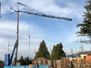 FMGru RB 1035 Self-Erecting Tower Crane