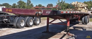 Fontaine LFTW-5-8045 WSK Flat Bed Trailer