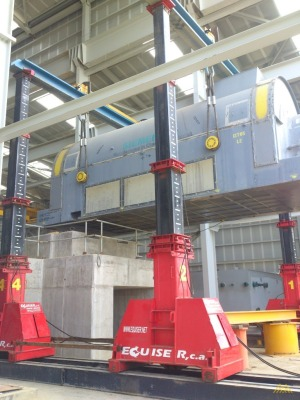 J&R Engineering L900-4-34 450-Ton Hydraulic Gantry
