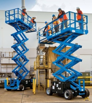 Genie GS-2669 RT 0.75-Ton Scissor Lift