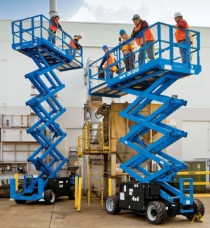 Genie GS-3369 RT 0.5-Ton Scissor Lift