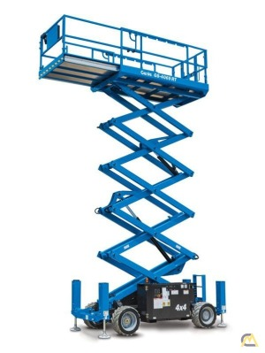 Genie GS-4069 RT 0.4-Ton Scissor Lift