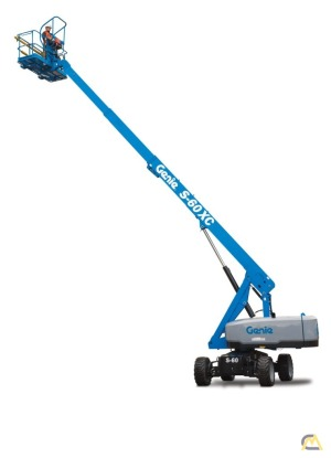 Genie S-60 XC 0.33-Ton Telescopic Boom Lift