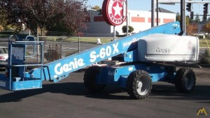 Genie S-60 X 60' Telescopic Boom Lift