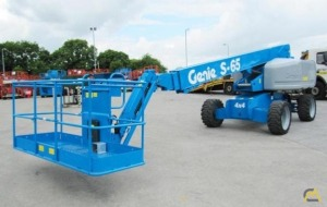 Genie S-65 0.25-Ton Telescopic Boom Lift