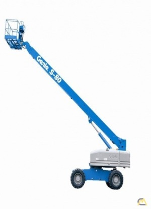 Genie S-80 XC 0.33-Ton Telescopic Boom Lift