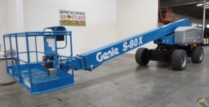 Genie S-80X 0.25-Ton Telescopic Boom Lift