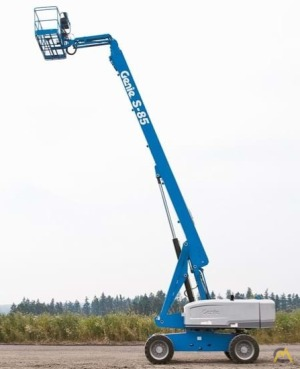 Genie S-85 0.25-Ton Telescopic Boom Lift