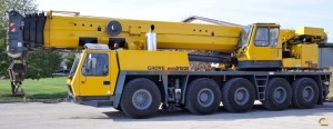 Grove GMK-5120B 120-Ton All Terrain Crane