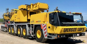 Grove GMK5225 225-Ton All Terrain Crane