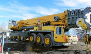 Grove GMK7550 550-Ton All Terrain Crane