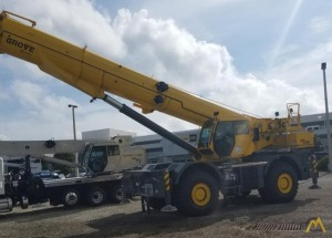 Grove GRT8100 100-Ton Rough Terrain Crane