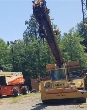 Grove RT58D 20-ton Down Cab Rough Terrain Crane