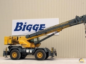 Grove RT600E 50-ton Rough Terrain Cranes