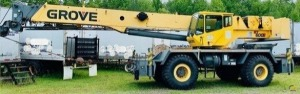 Grove RT650E 50-Ton Rough Terrain Crane