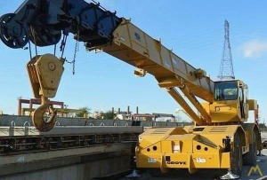 Grove RT745 45-Ton Rough Terrain Crane