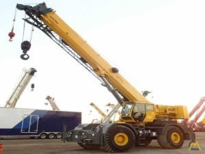 Grove RT760E 60-Ton Rough Terrain Cranes