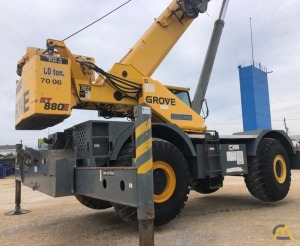 Grove RT880E 80-Ton Rough Terrain Crane