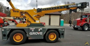 Grove YB5515 15-Ton Carry Deck Crane