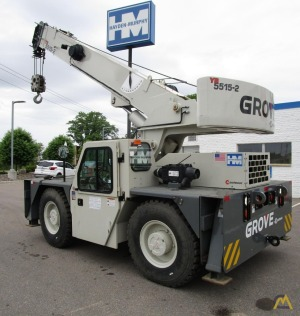 Grove YB5515-2 15-Ton Carry Deck Industrial Crane