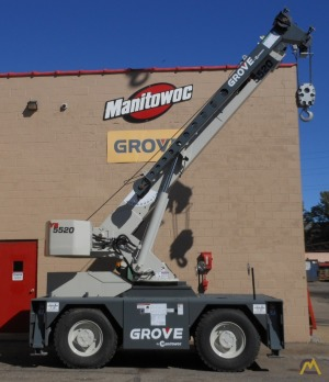 Grove YB5520 20-Ton Carry Deck Crane