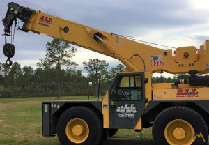 Grove YB7720 XL 20-Ton Carry Deck Industrial Crane