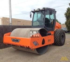 Hamm 3412 Smooth Drum Compactor