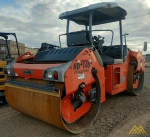 Hamm HD140+VO Double Drum Roller