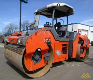Hamm HD140 VVHF Smooth Drum Compactor