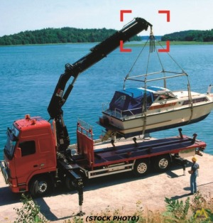 HIAB 500 - HARD TO FIND Knuckle Boom, Rear Mounted, IN USA