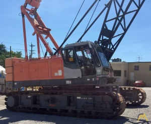 Hitachi CX900 100-ton Lattice Boom Crawler Crane