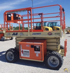 JLG 260MRT Rough Terrain Scissor Lift